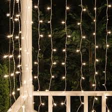 curtain lights christmas icicle light 65 drop clear incandescent curtain