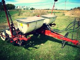 white 543 4 row planter farm equipment pinterest vintage farm