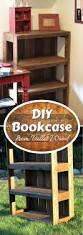 Making Furniture Bookcase by Best 25 Diy Bookcases Ideas On Pinterest Bookcases Diy Living