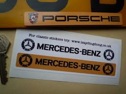mercedes uk dealers mercedes number plate dealer logo cover stickers 5 5 pair