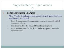 Paragraph About Thanksgiving Tie Back To Thesis Statements Transition Sentences Ppt Video