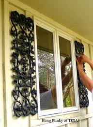 wroght iron shutters on wrought iron iron doors and