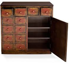 media cabinet with drawers pottery barn s apothecary media cabinet apartment therapy