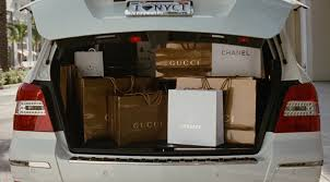lexus rx 350 vs mercedes benz glk gucci chanel versace prada and marc jacobs shopping bags and