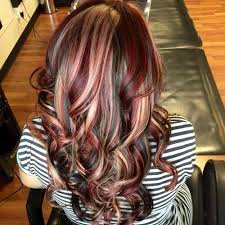 blonde and burgundy hairstyles 50 charming brown hair with blonde highlights suggestions hair