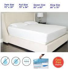 Queen Mattress Topper King Mattress Topper King Size Waterproof Mattress Pad Protector