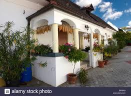 Farm Houses Farm Houses At Morbish Am See Neusiedler See Austria Stock