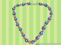 string beads necklace images How to string a crystal bead necklace with pictures wikihow jpg