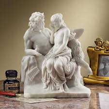 indoor statues bonded marble classical modern design toscano