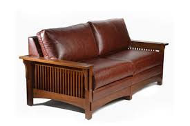 Stickley Mission Sofa by Leather Mission Sofa U2013 Hereo Sofa