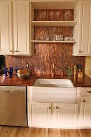 copper backsplash tiles kitchen surfaces pinterest 16 best copper backsplash images on pinterest copper backsplash