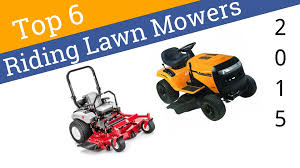 6 best riding lawn mowers 2015 youtube