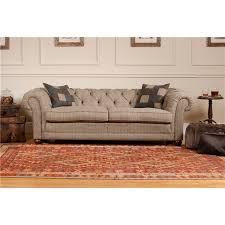 tetrad harris tweed castlebay petit sofa furniture at prestige