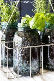 Indoor Herb Garden Ideas by Indoor Mason Jar Herb Garden