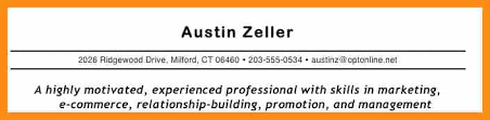 Branding Statement For Resume 4 Branding Statement Examples Science Resume