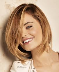 what is deconstructed bob haircuta middle of the neck bob with a side fringe