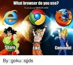 Meme Browser - what browser do you use facebookcomdrtgtkaihd share like comment