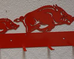 Razorback Bathroom Razorback Decor Etsy