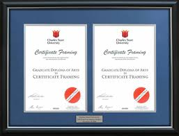 graduation frame charles darwin masters degree certificate frame