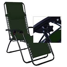Zero Gravity Patio Chairs by Odaof Adjustable Outdoor Zero Gravity Chair Green Our Rating