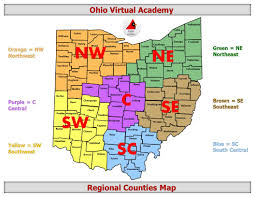 Central Ohio Map by Parents Ohio Virtual Academy