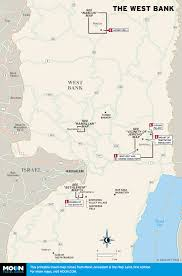 West Bank Map Printable Travel Maps Of Israel And Jerusalem Moon Guides