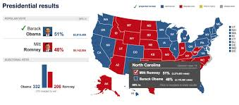 Election Map 2012 by Nbc News Election Results Maps Evann Strathern