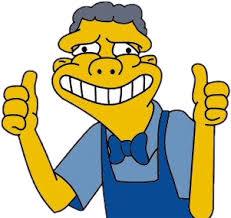 Moe Meme - simpsons smile momo meme moe trapgame trap trapgameedit