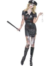 Sexiest Halloween Costumes Zombie Policewoman Ladies Halloween Party Fancy