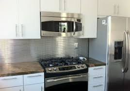 stainless steel tiles for kitchen backsplash stainless steel kitchen backsplash lovable stainless steel mosaic