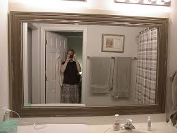 framed bathroom mirrors comely framed bathroom mirrors bathroom