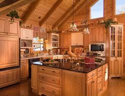 Best Log Home Kitchens Images On Pinterest Log Home Kitchens - Log home interior designs