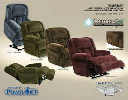 4847 burns power lift full lay flat recliner w sofas and sectionals