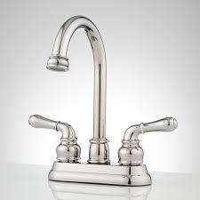 gooseneck kitchen faucet signature hardware