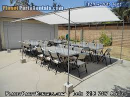 party rentals san fernando valley party tent rentals prices for tent rentals 12ftx20ft pictures