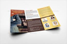 law firm brochure law firm trifold brochure template a4 law firm