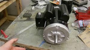 harbor freight 2hp compressor motor 67842 youtube