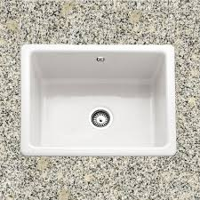 Cheshire Single Bowl Ceramic Kitchen Sink - Kitchen sinks ceramic