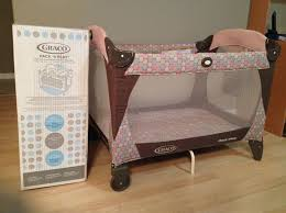 Pink And Brown Graco Pack N Play With Changing Table Top Pink And Brown Graco Pack N Play With Changing Table Rs