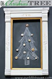 my christmas tree chalkboard wall christmas tree pinterest