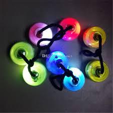 glow balls led thumb chucks finger balls yo yo fidget toys glow in
