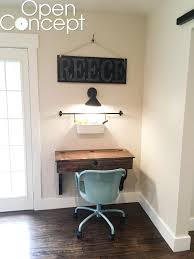 Floating Wall Desk Diy Floating Student Desk As Seen On Hgtv Open Concept Shanty 2 Chic