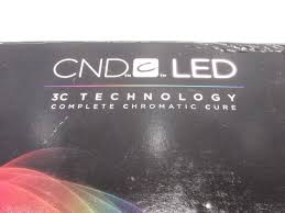 cnd 3c led l new cnd led lamp 3c technology complete chromatic cure ebay