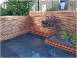 backyards ergonomic image of simple privacy fence ideas for