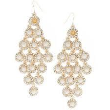 pearl chandelier earrings river island pearl chandelier earrings polyvore