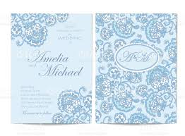 light blue wedding invitations wedding invitation card light blue stock vector art more images of