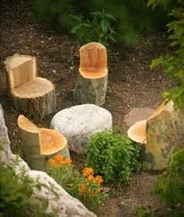 How To Make End Tables Out Of Tree Stumps by Best 25 Tree Stumps Ideas On Pinterest Tree Stump Furniture