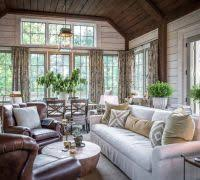 Shabby Chic Sunroom Chicago Joint Sunroom Farmhouse With Shabby Chic Traditional