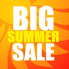 summer sale big summer sale text free vector in adobe illustrator ai ai