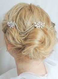 wedding hair accessories art deco headpiece rhinestone piece hair